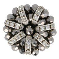 Handgemaakte diamantknoop 2581-48-ZILVER-1